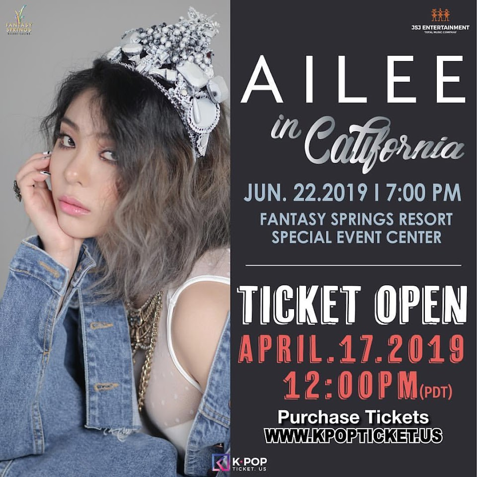 ailee concert poster