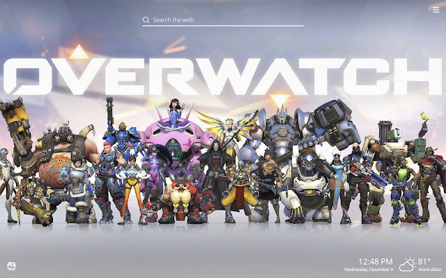 Overwatch HD Wallpapers New Tab Theme