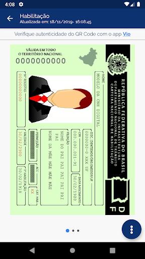 Carteira Digital de Trânsito screenshot 3