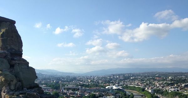 Tbilisi aankomst · 107 nieuwe foto's toegevoegd aan gedeeld album