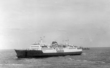 """Photo: """"Chantilly"""" turning outside Calais, June 18, 1980 (Photo: A.M.S. Russell)"""