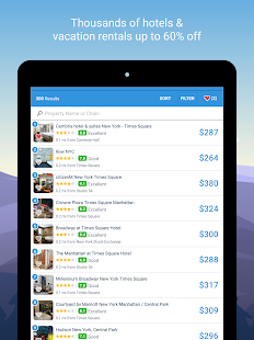 Hipmunk Hotels & Flights- screenshot thumbnail