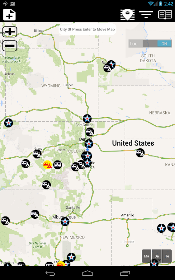 Military Campgrounds RV Parks- screenshot