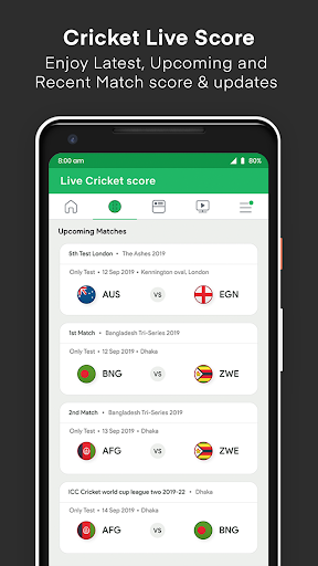 Live Cricket Score screenshot 2