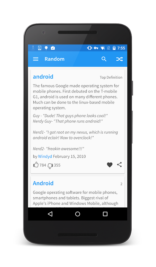 Urban Dictionary (Material) - Android Apps on Google Play