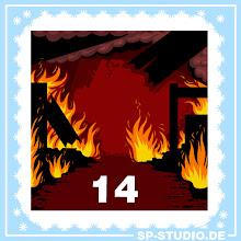 Photo: Burning background