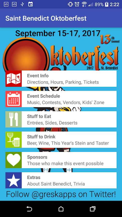 St. Benedict Oktoberfest – Richmond, Virginia- screenshot