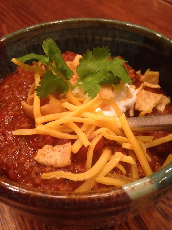 Award Winning Chili- Great For A Cold Night!