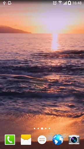 Sunrise Ocean Real Wallpaper