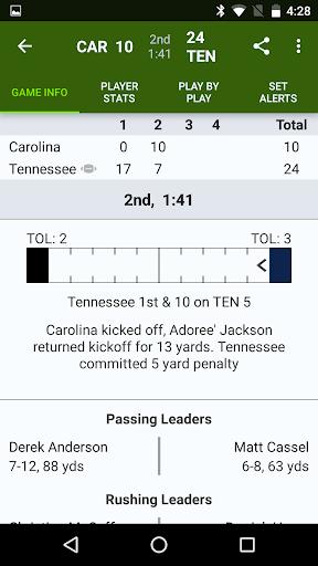 Sports Alerts - NFL edition 2.7.1 screenshots 4
