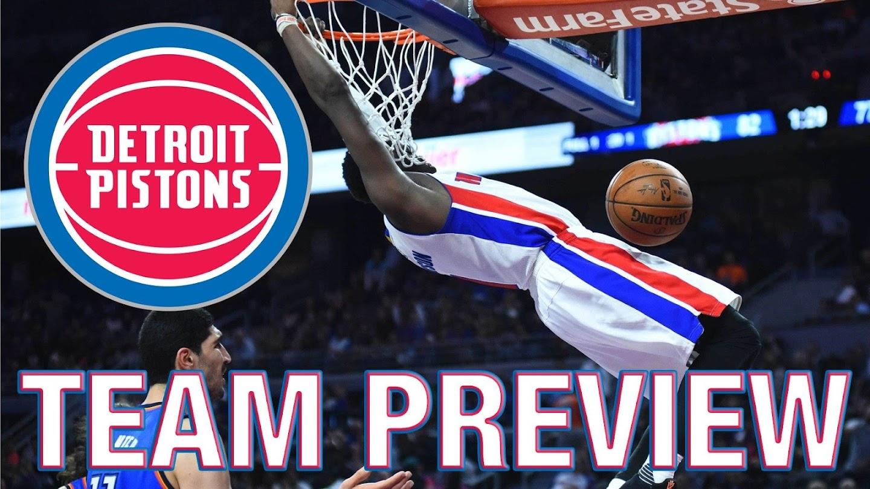 Watch Detroit Pistons Team Preview live