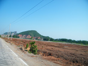 Photo: the land under constrution.