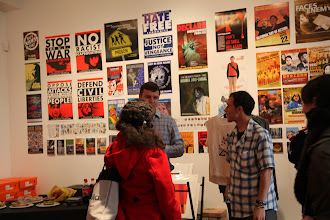 Photo: The exhibit in SoleSpace is on 10 Years of Designing for Change byhttp://designaction.org/