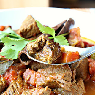 Oh-So-Flavorful Warm Spiced Beef Curry (GF, Dairy Free, Oil-Free)