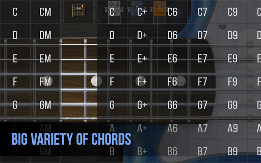 Real guitar - guitar simulator with effects 1.7.1 screenshots 5