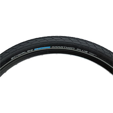 "Schwalbe Marathon Plus Tire 26 x 2.00"" Wire Bead Performance Line Endurance  Compound SmartGuard"