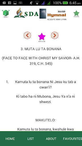 SILOZI SDA HYMN BOOK App Report on Mobile Action - App Store