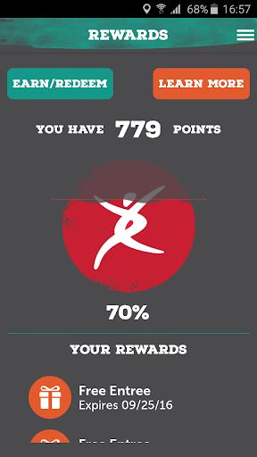 Pei Wei Rewards Screenshot