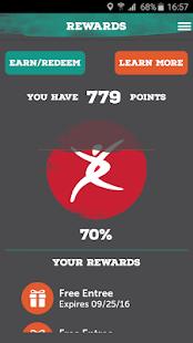 Pei Wei Rewards - náhled