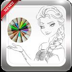 how to draw disney princesses icon
