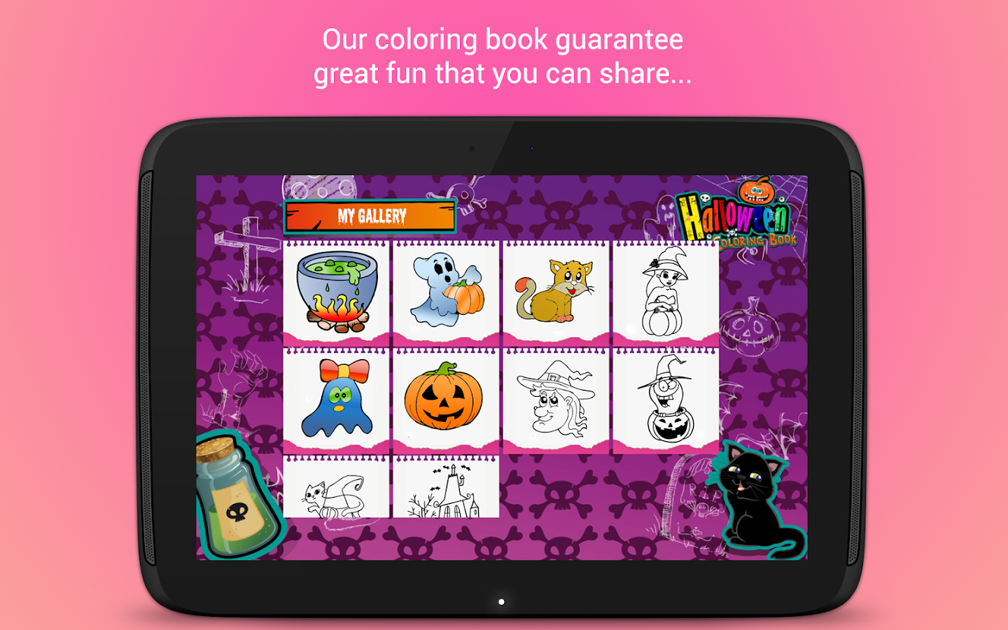 Halloween Coloring Book 🎃- screenshot