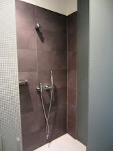 Photo: Separate shower, tub and toilet areas