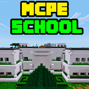 Large School MCPE map
