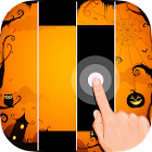 Piano Tiles Halloween icon