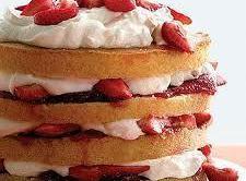 Family-size Strawberry Shortcake Recipe