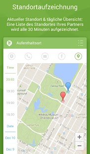 Couple Tracker Pro - SMS Anrufen GPS Screenshot