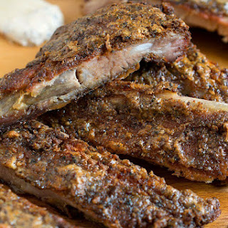 White Barbecue Sauce Pork Ribs