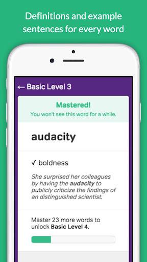 GRE Vocabulary Builder - Test Prep screenshot 13