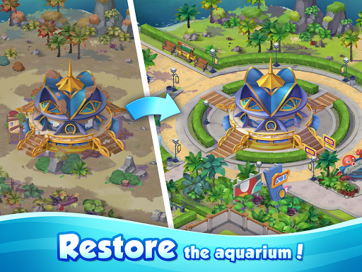 Aqua Blast: Fish Matching 3 Puzzle & Ball Blast 1.3.4 screenshots 11