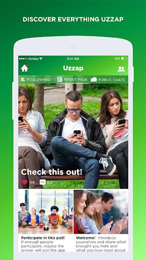 Uzzap Amino for Pinoy Chat 2.2.27032 screenshots 1