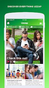 Uzzap messenger (official) home   facebook.