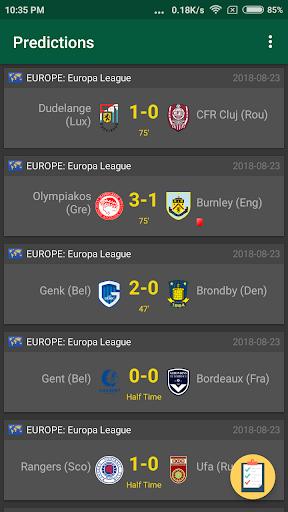 Bet Scanner - Football 1.1 screenshots 2