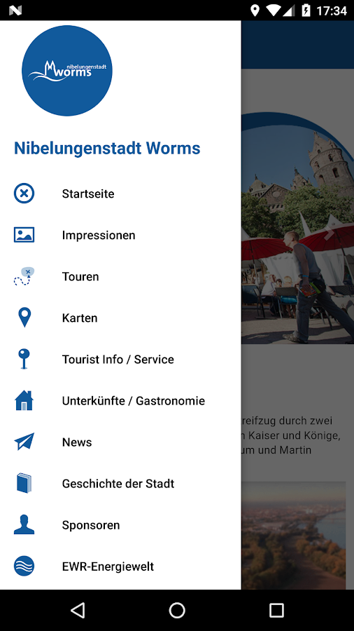Nibelungenstadt Worms- screenshot