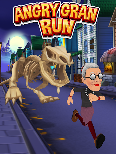 Angry Gran Run - Running Game screenshot 9