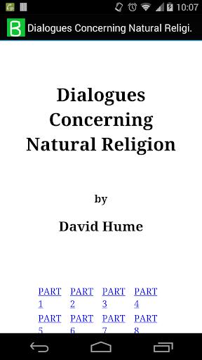 Concerning Natural Religion