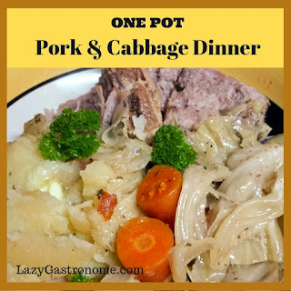 One Pot Pork & Cabbage Dinner
