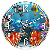 Aquarium Clock Live Wallpaper