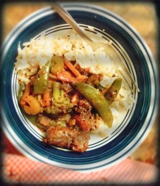 Orange & Ginger Beef Stir Fry Recipe