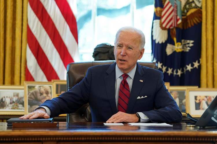 US President Joe Biden. File photo.