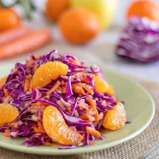Yummylicious Detox Red Cabbage Salad.