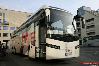 Photo: A#: RK 28199 ved Drammen stasjon, 27.09.2011. Acme Buss AS, Sola (Sør-Vest Reiser #1578).
