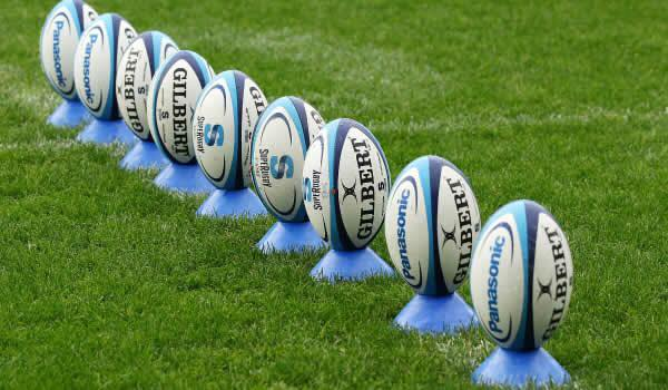 A generic picture of a rugby ball.