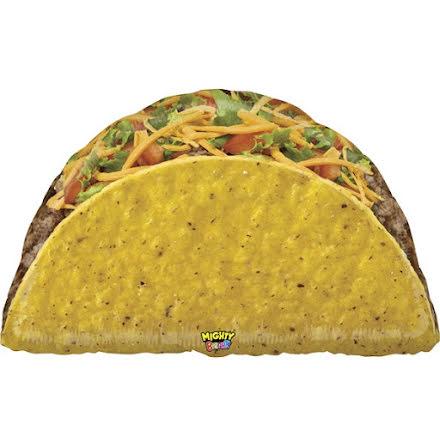 Folieballong - Taco