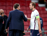 Bondscoach Gareth Southgate is lovend over Engels international Harry Kane