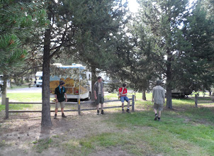 Photo: KOA site at West Yellowstone