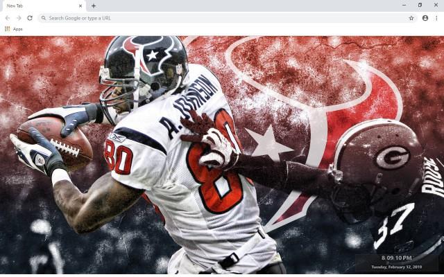 NFL Houston Texans New Tab